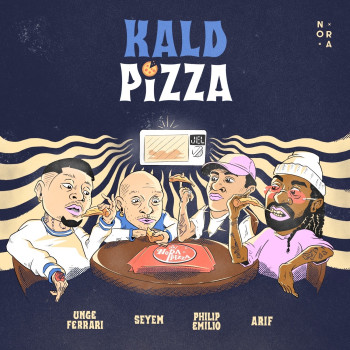 "Cover Art for ""Kald Pizza"""